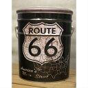 ペール缶スツール 66 BLACK ROUTE66 アンティーク仕上げ 店舗什器 店舗椅子 店舗スツール 収納付き 黒 アンティーク雑貨