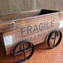 ヴィンテージ木箱 フラジール・カートボックス ウッド インテ...