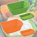 アーネスト 食器やシンクに優しい洗い桶 脚付きシリコン洗い桶/脚付きシリコン桶