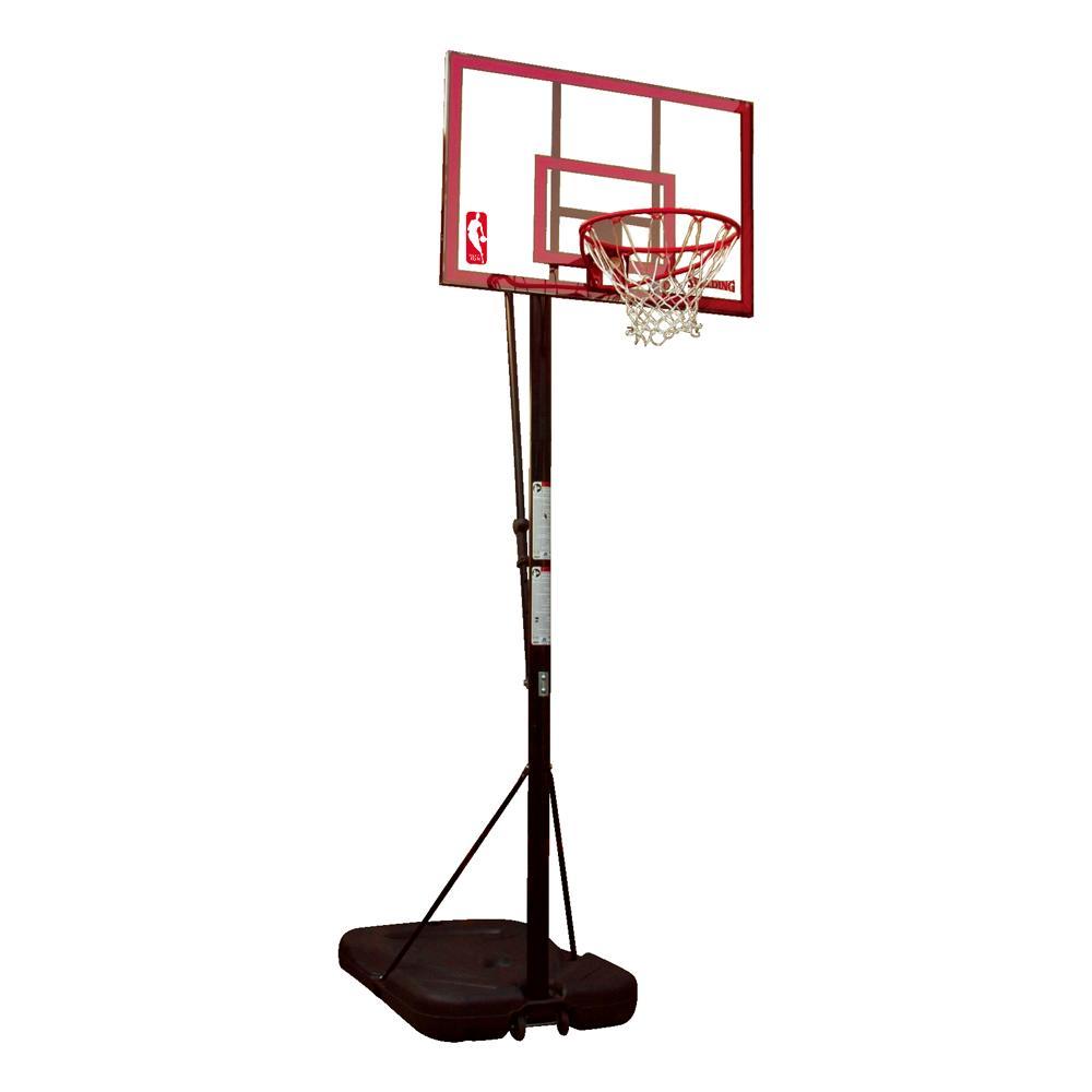 【NBA公認の高品質】SPALDING:44インチ ポリカーボネイトポータブル:バスケットゴール(72351CN)