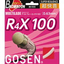 GOSEN ゴーセン バドミントン ストリング(ガット)BS100 アール・フォー・エックス100