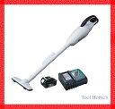 マキタ 18V コードレス 掃除機 カプセル式 CL180FDZW +急速充電器+純正バッテリーBL1820/充電式/CL180FDRFW/クリーナー /リチウムイオンバッテリー