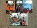 【中古】 ◆ AKIRA アキラ 全5巻 フィルムコミック 新装版 大友克洋 全巻 完結 セット