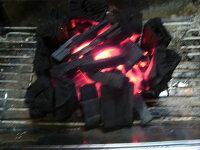 BBQコンロでの着火後の燃焼