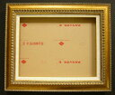 Frame (art frame) F10 (P10.M10) new article gold 4010 for oil painting