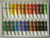 画材 アクリル絵の具 12ml×24色 -特価品-新品