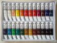 画材 油絵の具 12ml×24色 -特価品-新品