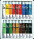画材 アクリル絵の具 12ml×18色 -特価品-新品