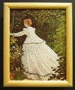 額装品 名画ポスター モネ「Femmes au Jardin detail」 新品