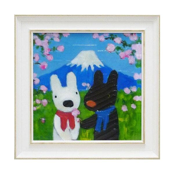 リサとガスパール アートフレーム Mサイズ「にほ...の商品画像