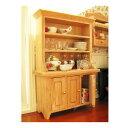 ミニチュア家具 食器棚 カントリーナチュラル (1/12スケール) ID001 m-s 【 ネコポス不可 】