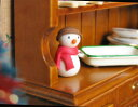 Miniature miscellaneous goods snowman [SNM01][m-s] [tomorrow easy correspondence]