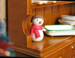 Waiting to restock ☆ ☆ miniature gadgets snowman