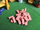 ミニチュア雑貨 ミニミニレンガ 325個セット 半サイズ60個付き[AAM0210][m-s]〔再入荷〕【 ネコポス不可 】