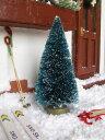 ミニチュア雑貨 10cm クリスマスツリー リトルスノー[NYXMT10W][m-s]【 ネコポス不可 】