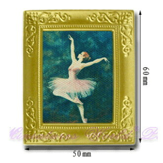 Miniature gadgets (paintings) framed painting Ballet
