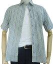GE-STYLEのメンズ 半袖 レギュラーカラー シャツ 977 M(衿39cm) L(衿41cm)
