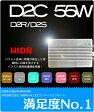 HIDバルブ/55W/D2C(D2R/D2S/D4R/D4S) コンバージョンキット/金属固定台座(光軸のブレを防止)純正交換用 HIDバルブ/ヘッドライト/◎比べてみればわかる 純正銀色のメッシュチュープ・銀色のコネクター(純正品)D4 D2C 55W HIDキット/新型バラスト
