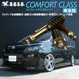 [車高短モデル]ZRR80G/ZRR80W/ZWR80G ヴォクシー/VOXY[RUSH車高調 COMFORT CLASS]減衰力24段調整付全長調整式フルタップ車高調