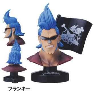 [5] Bandai trout this ONE PIECE dress great deep collection Vol.1 Frankie one piece of article animated cartoon figure skating