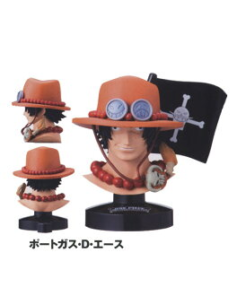 [7] Bandai trout this ONE PIECE dress great deep collection Vol.1 port gas D ace one piece of article animated cartoon figure skating