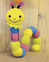 [733] Sunrise ゆるあにまるひっかけぬいぐるみゆるいもむし character toy toy stuffed toy
