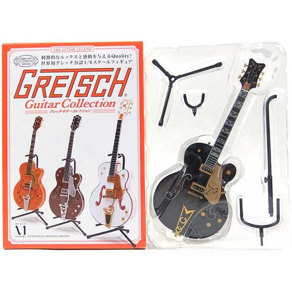 3メディアファクトリー1/8GRETSCHグレッチギターコレクションブラックファルコン/G6136D
