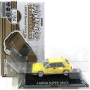 SUBARU - 【6黄色】 CM's 1/64 ラリーカーコレクション LANCIAスペシャルカラーVer ランチア スーパーデルタ イエロー 宮沢模型限定塗装Ver ミニカー 半完成品 単品