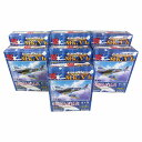 【7SET】 童友社 1/100 翼コレクション 第5弾 シークレットを含む全7種セット 戦闘機 ミニチュア 半完成品 プラスチックキット プラモ BOXフィギュア 単品