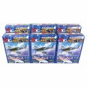【6SET】 童友社 1/100 翼コレクション 第5弾 全6種セット(シークレットを含まない) 戦闘機 ミニチュア 半完成品 プラスチックキット プラモ BOXフィギュア 単品