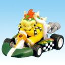最大の宿敵!クッパ (マリオカート Wii キャンデー プルバックカー ミニカー フィギュア BOX 任天堂 食玩 フルタ) 2P20Feb09