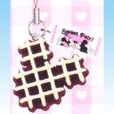 ミッキーの形!チョコワッフル・ホワイト (ミッキーマウス カフェスウィーツマスコット チョコミックス ガチャ ユージン) 2P20Feb09