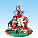 かんなぎ 組立式クリスマスフィギュア サンタ コスプレ ミニスカート バンプレスト(全3種フルセット)【即納】【05P03Dec16】