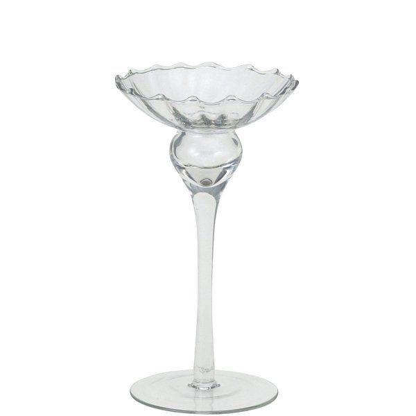 ガラス製キャンドルスタンドS/結婚式・披露宴等でキャンドルを立てる時に使用
