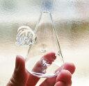 可愛いガラス花器「エンジェル」/一輪挿しに最適