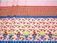 【特価 綿生地 布地】ルシアン布地 Judie's Cotton アップル&マーガレット ピンク 175L1a
