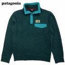 新品/patagonia/Cotton Quilt Snap-T Pullover/パタゴニア/コットン・キルト・スナップT・プルオーバー/Smolder Bl...