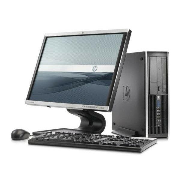 Windows7 Pro 32BIT搭載【リカバリ領域有】/HP Compaq 8100 Elite/Core i3 2.93GHz/新品メモリ4GB/160GB/DVD/Office 2013付き 【20インチモニター】【中古パソコン】【即日発送】