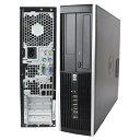 Windows10 Pro 64BIT/HP Compaq 8000 Elite SF/Core2 Duo 2.93GHz/4GB/1TB/DVD/無線LAN/Office付/20型液晶 中古パソコン デスクトップ