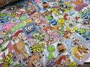 トイストーリー ディズニー コミック カラー シーチングキルト キルティング キャラクター 生地 布|入園入学|キッズ|女の子|ハンドメイド|手作り ソーイング|ハンドメイド 手芸|通販|安い 2016 おしゃれ