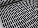 北欧風(アルテック風)カラフル格子 ブラック黒 オックス生地【DM便可】チエック 生地 布|綿 コットン エプロン|ワンピース|スカート|小物 携帯ケース ポーチ インテリア|手作り