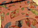 綿縮緬(チリメン) 扇子せんす扇【メール便2,5m可】|ちりめん|生地|布地|和柄|和風|日本|ワンピース|スカート|エプロン|小物|花柄|しなやか|やわらかい|上質|ソーイング|手芸|手作り|手づくり|長期継続品|