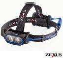 フジ ゼクサス ZEXUS LEDヘッドライト ZX-720モーション・センサー搭載 (フィッシング 釣り つり アウトドア led キャンプ用品 ヘッド ライト 作業用 防水 釣り用品 道具 ネックライト ヘッドライト 乾電池 単3電池 釣り道具 ヘッドランプ)