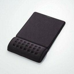 <strong>マウスパッド</strong> マウスパット エレコム COMFY MP-095BK ブラック MP-095GY グレー 【あす楽】