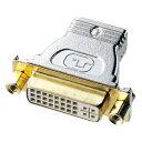 サンワサプライ HDMIアダプタ AD-HD04 変換アダプタ HDMIケーブルとDVIケブルとを中継 ( HDMIメス-DVI29pinメス ) 【 あす楽 】