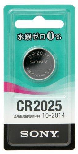 M 【送料無料】 SONY 水銀0%リチウムコイン電池 CR2025 CR2025-ECO