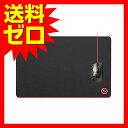 エレコム ゲーミングマウスパッド デスクマット 大型 460mm×297mm ブラック MP-G02BK / 【あす楽】 ELECOM