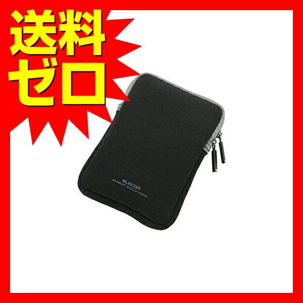 ELECOM HDDケース ネオプレン Sサイズ ( 内寸:W82・H122・D16.5 ) ブラック HDC-NC002BK エレコム ( 内寸:W82 H122 D16.5 ) 【送料無料】