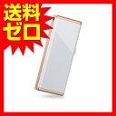 バッファロー iBUFFALO-女性向 キャップレス USB3.0 USBメモリー 32GB ホワイト RUF3-JW32G-RW