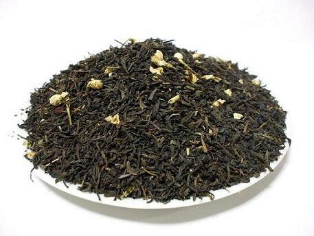 ジャスミン茶 本場福建省胡蝶マークジャスミン茶500g 業務用とたっぷり飲みたい方に